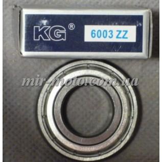 Подшипник 6003 (103) ZZ (KG) 17х35х10