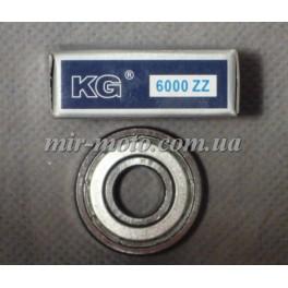 Подшипник 6000 (100) ZZ (KG) 10х26х8