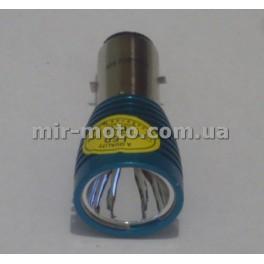 Лампа 12V  5W (диодная ВА20D WOYE)