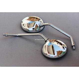 МТ Зеркала 10 мм круглые (металл-никель)