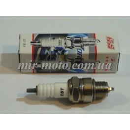 Свеча 2 тактная Е6ТС (NGK) M14*1,25 12,7mm   (2T скутеры 50-125сс) (S-2768)
